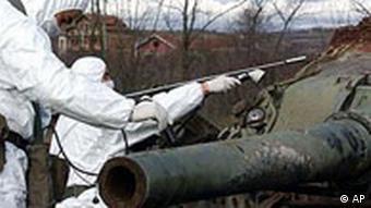 Suchen nach Uranspuren in Kosovo