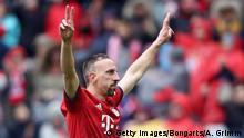 Fussball Bundesliga l FC Bayern München vs Hannover 96 l 3:1 Tor Franck Ribery