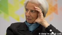 Christine Lagarde announced on Tuesday she had submitted her resignation from the global lender (Getty Images/S. Loeb)