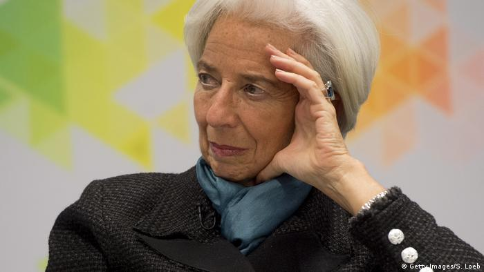 Christine Lagarde announced on Tuesday she had submitted her resignation from the global lender