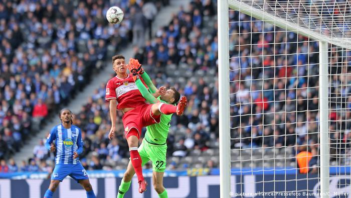 Fussball Bundesliga l Hertha BSC vs VFB Stuttgart (picture-alliance/Pressefoto Baumann/C. Müller)