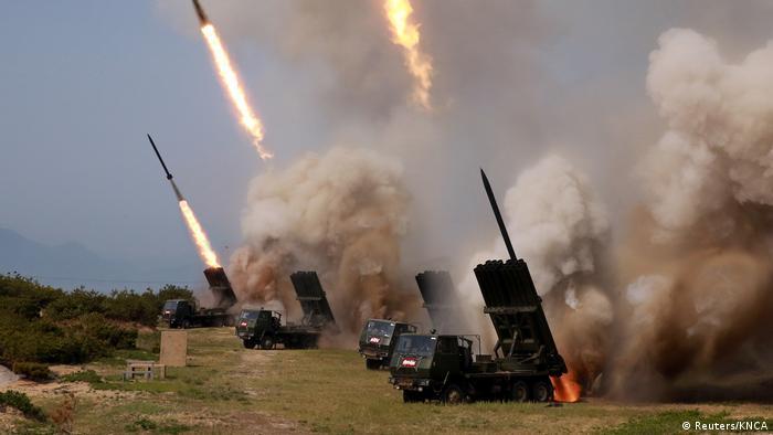 Nordkorea Raketentest (Reuters/KNCA)