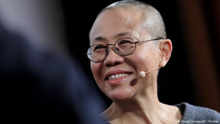 Frankfurt chinesische Künstlerin Liu Xia - Witwe von Friedensnobelpreisträger Liu Xiaobo