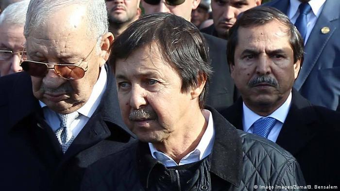 Algerien SAID Bouteflika - Bruder des EX-Präsidenten - festgenommen (Imago Images/Zuma/B. Bensalem)
