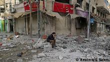 Gaza-City Zerstörungen nach Luftangriffen aus Israel