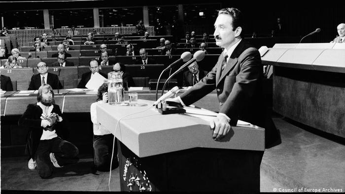 Eski Başbakan Bülent Ecevit 1979 yılında Avrupa Konseyi'nde bir konuşma yapmıştı