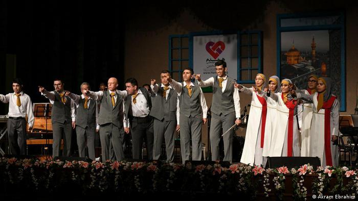 اجرای ارکستر ملی ویژه ایران در گرگان