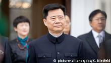 Deutschland Diplomatie l Akkreditierung des neuen chinesischen Botschafters WU Ken im Schloss Bellevue