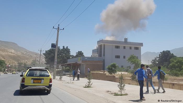 Afghanistan l Anschlag auf eine Polizeistation in Baglan