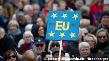 EU Deutschland l Pulse of Europe - Demonstration in Berlin