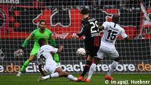 Fußball-Bundesliga: Bayer 04 Leverkusen - Eintracht Frankfurt - Tor 1:0