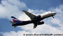 Russland Aeroflot Sukhoi Superjet