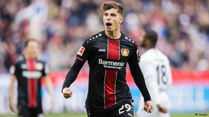 Kai Havertz, 20, Bayer Leverkusen (imago)