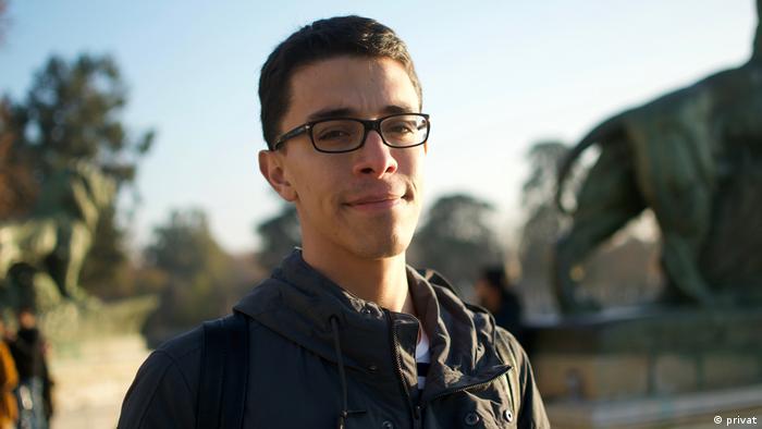 Trans-Aktivist Luis Barrueto von der LSBTI-NGO Visibles in Guatemala-Stadt, Guatemala