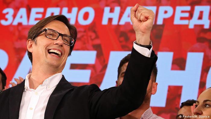 Yeni cumhurbaşkanı Stevo Pendarovski
