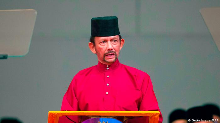 Brunei: Sultan Hassanal Bolkiah (Getty Images/AFP)