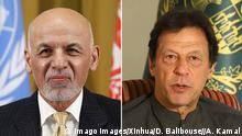 Bildkombo Aschraf Ghani und Imran Khan