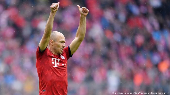 Fußball 1. Bundesliga Saison 18/19 FC Bayern München - Hannover 96 | Arjen Robben (picture-alliance/dpa/Pressebildagentur Ulmer)
