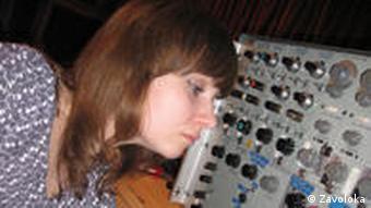 Ukrainische Musikerin und Künstlerin Zavoloka