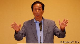 Taiwan Taipeh   Terry Gou, CEO Foxconn Technology Group