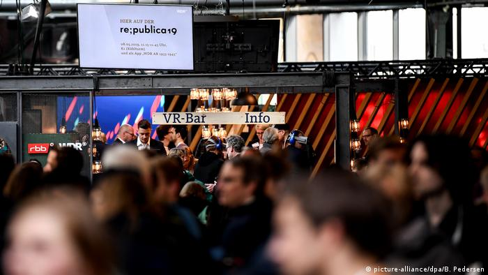 re:publica 2019 | Internetkonferenz in Berlin, Deutschland (picture-alliance/dpa/B. Pedersen)