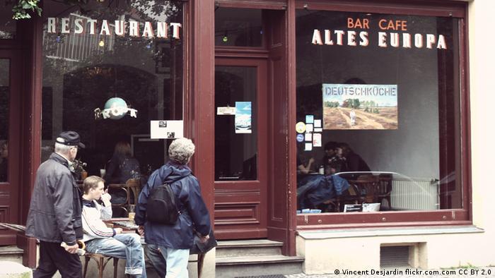 Das Restaurant Altes Europa von außen (Vincent Desjardin flickr.com.com CC BY 2.0)