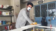 Furniture worker Seyfeddin Ahmed Thema: Syrer, die in der Türkei leben DW, Hilal Köylü