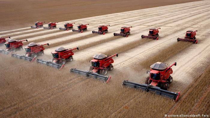 Žetva soje u Brazilu