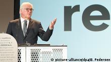 re:publica 2019 | Internetkonferenz in Berlin, Deutschland | Frank-Walter Steinmeier, Bundespräsident
