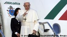 Italien | Papst Franziskus auf Balkanreise