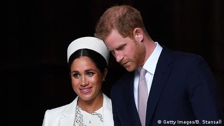 Prince Harry and Meghan Markle (Getty Images/B. Stansall)