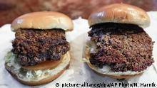 Symbolbild | Hamburger | vegetarischer Burger