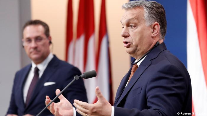 Ungarn l FPÖ-Chef Christian Strache trifft Viktor Orban