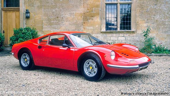 Ferrari Dino 1973 Flash-Galerie