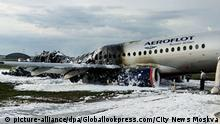 Russland | Aeroflot-Unglück | Flughafen Moskau