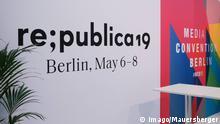 Re:publica 2019, europäischen Digitalkonferenz, re:publia, in The Station am 06.05.2019 in Berlin Re:publica Digitalkonferenzi in Berlin *** Re publica 2019 European digital conference re publia in The Station on 06 05 2019 in Berlin Re publica digital conference in Berlin