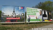 Deutschland Wahlplakate Europawahlen 2019