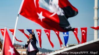 Ekrem Imamoglu, prefeito de Istambul