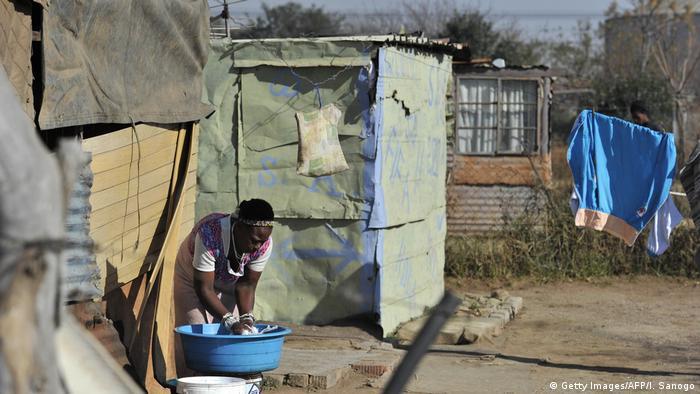 Südafrika   Einwohner in Sharpeville, einem Township in der Provinz Gauteng