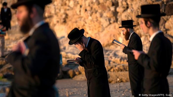 Religion Fastenzeit l Judentum Versöhnungstag - Yom Kippur (Getty Images/AFP/J. Guez)