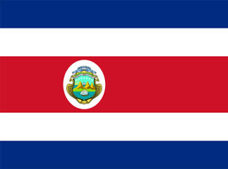 Flagge Costa Ricas