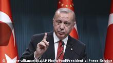 Türkei | Recep Tayyip Erdogan in Ankara
