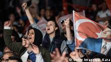 Türkei, Istanbul: Bürgermeister Ekrem Imamoglu hält Ansprache