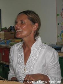 Annie Kawka-Wegmann, Rektorin der katholischen Grundschule Bonn-Mehlem, im Unterricht (Foto: Annie Kawka-Wegmann)