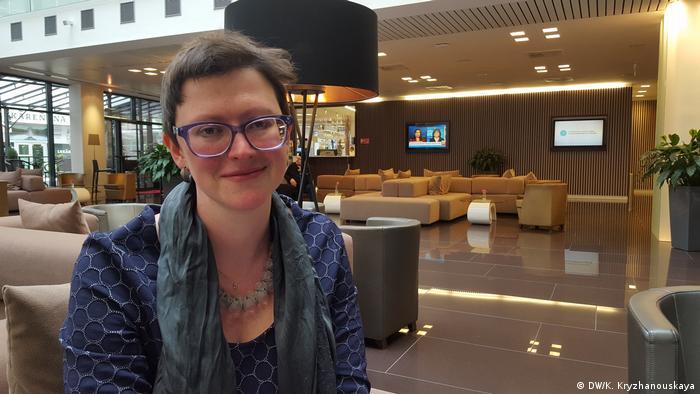 исполнительный директор Гражданского форума ЕС-Россия Анна Севортьян