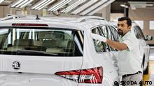 Výroba, Škoda Auto India