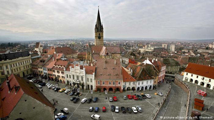 Rumänisches Sibiu - Europäische Kulturhauptstadt 2007, Herrmannstadt