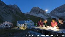 Oberstdorf: Sonnenuntergang an der Rappenseehuette, Allgaeu | Verwendung weltweit