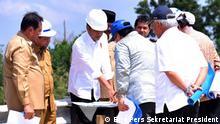 Planung der neuen Hauptstadt Indonesiens