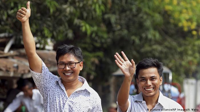 Myanmar Journalisten